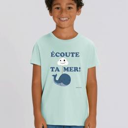 T-Shirt - Baleine - Enfant